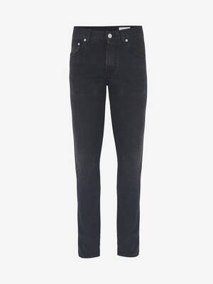 McQueen Embroidered Jeans