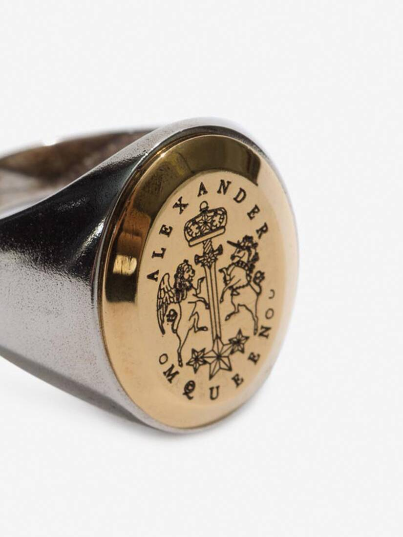 Display a large version of the product image 4 - Signet Ring