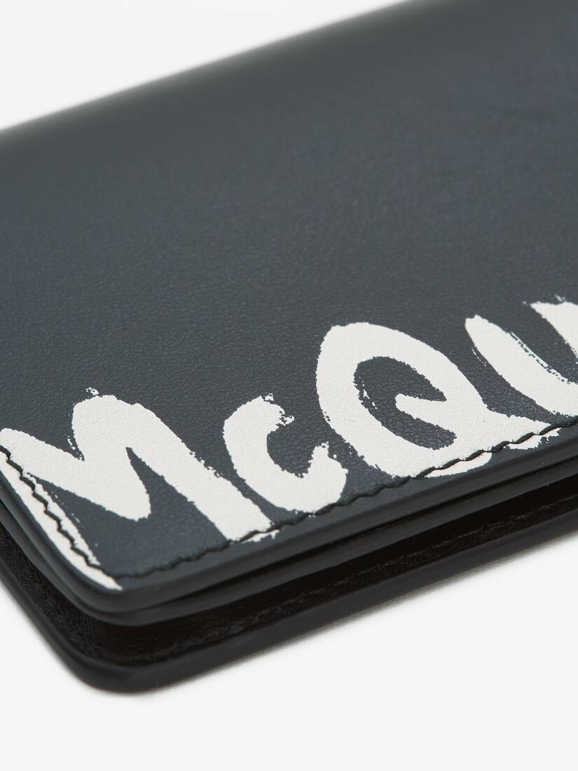 Display a large version of the product image 5 - McQueen Graffiti Business Card Holder