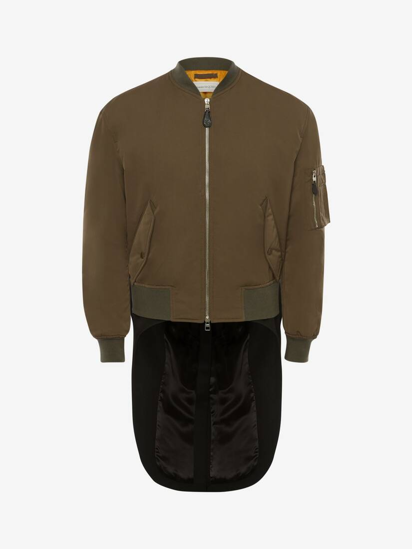 Hybrid Tail Coat Bomber