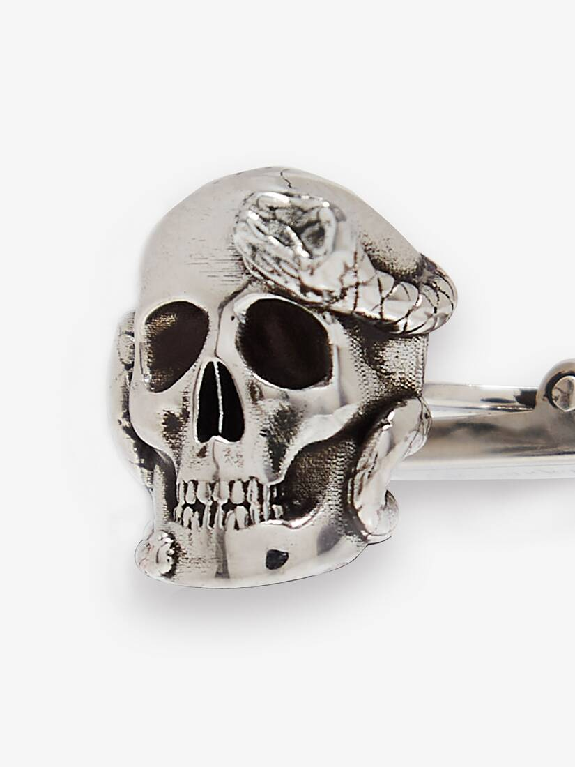 Display a large version of the product image 3 - Skull and Snake Cufflinks