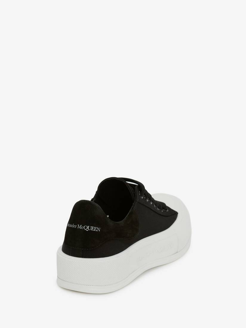 Deck Lace Up Plimsoll