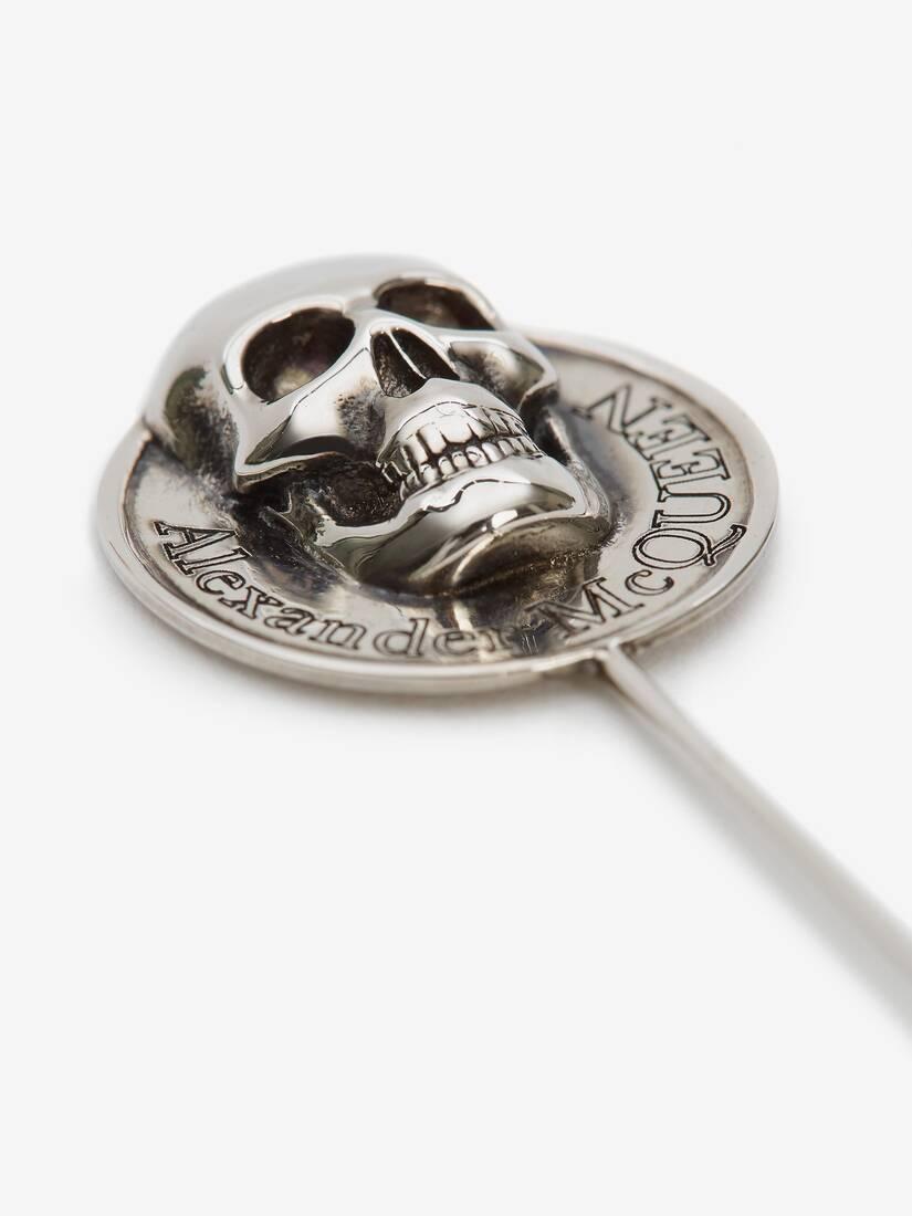 Afficher une grande image du produit 3 - Broche à pièce de monnaie Skull