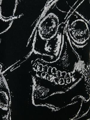 Painted Skulls Jacquard Jumper