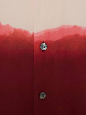 Chemise imprimée Dip Dye