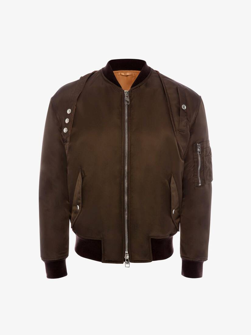 Display a large version of the product image 1 - Aviator Harness Bomber Jacket