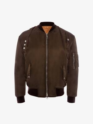 Aviator Harness Bomber Jacket