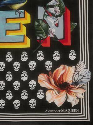 Lustige-Schriftarten-Biker-Skull-Schal