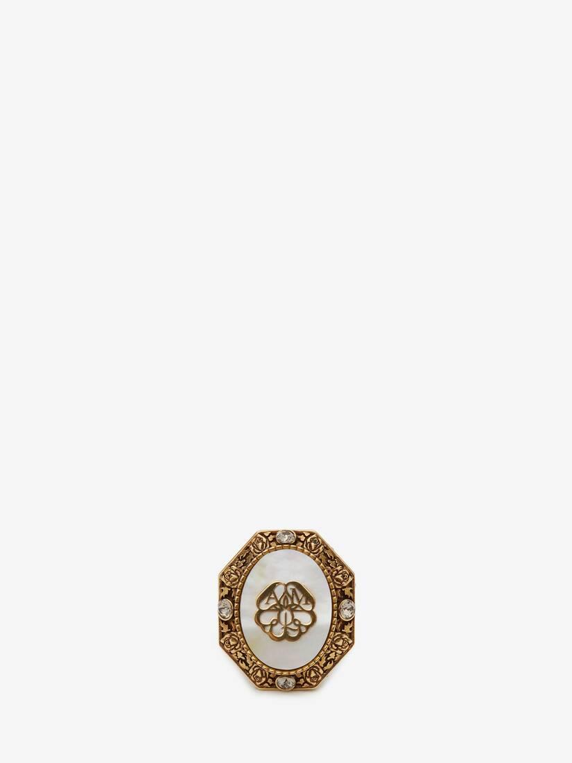 Afficher une grande image du produit 3 - Bague avec ornement sceau
