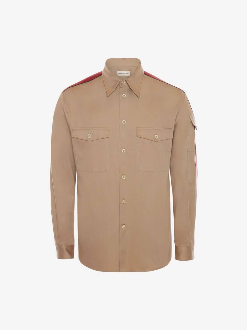 Selvedge Tape Military Shirt