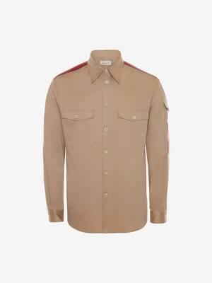 Selvedge Tape Military Shirt