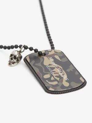 Camouflage Identity Necklace
