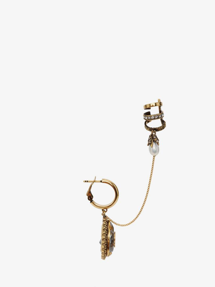 Display a large version of the product image 2 - Charm Seal Droplet Ear cuff