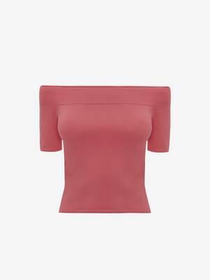 Off-The-Shoulder Knit Top