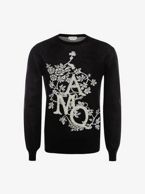 Ivy Monogram Crew Neck Jumper