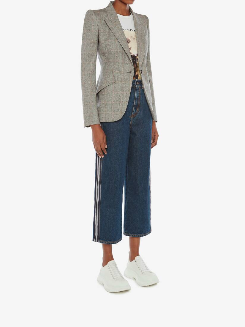 Display a large version of the product image 3 - Boyfriend Denim Trouser