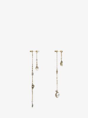 Signature Chain Drop Earrings