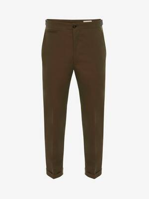 Logo Tape Chino Trousers
