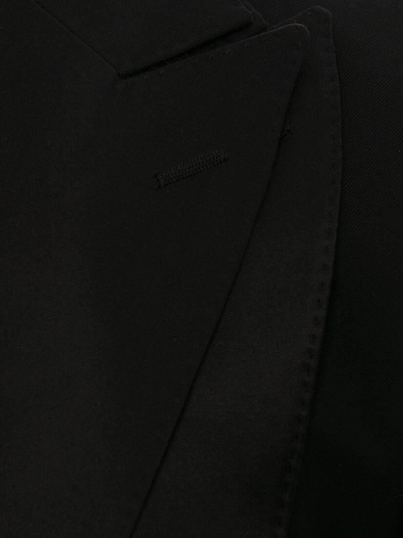 울 개버딘 트롱프뢰유 턱시도 재킷