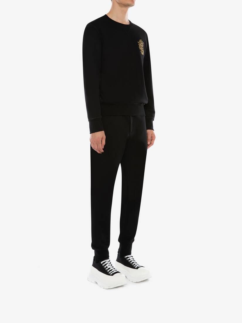 大きな製品イメージを表示する 3 - クリスタル エンブロイダード スウェットシャツ