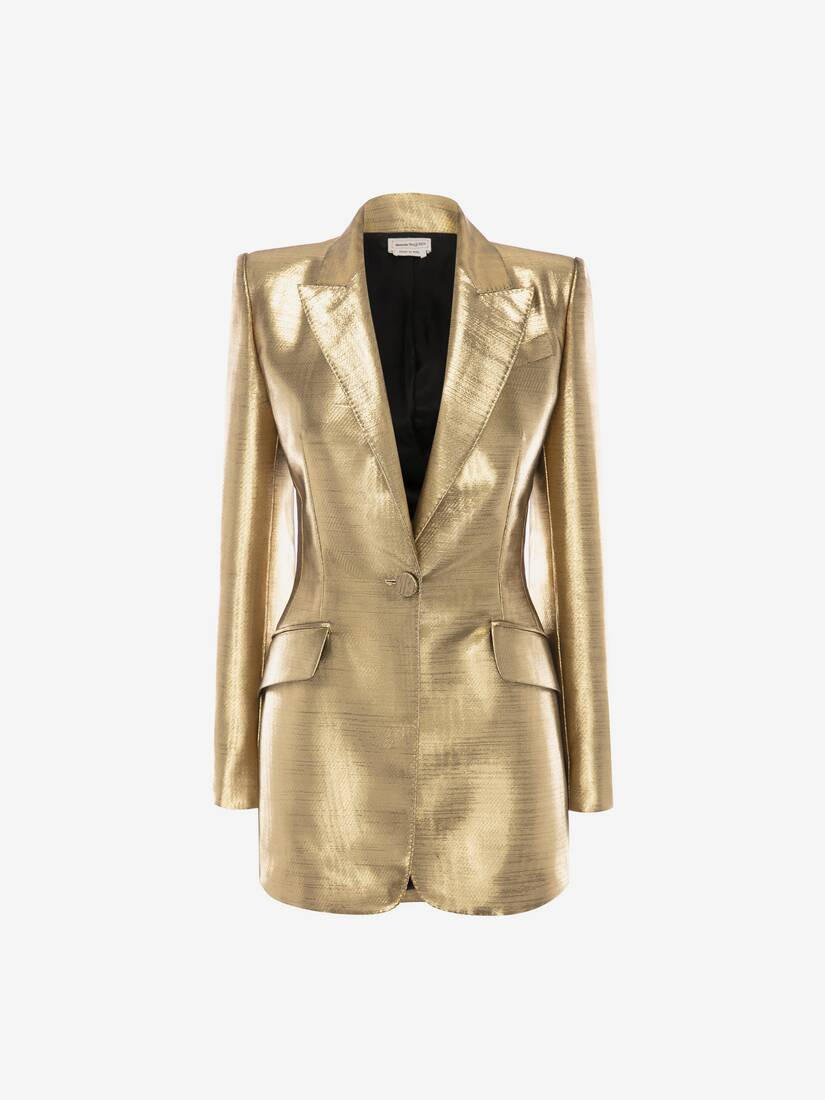 Display a large version of the product image 1 - Metallic Moiré Jacket