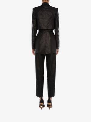 Trompe L'Oeil Linen Jacket
