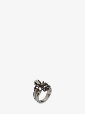 Spider Skull Ring