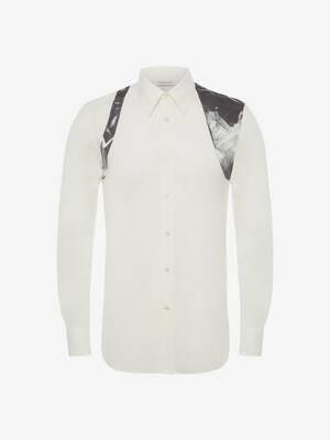 Camicia Harness con Stampa X-Ray