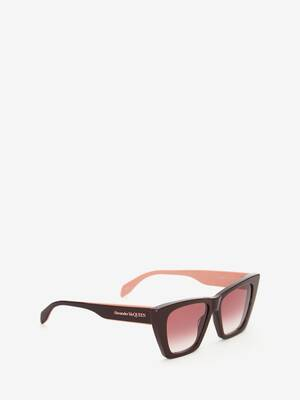 Selvedge Cat-Eye Sunglasses