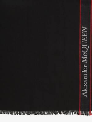 Alexander McQueen Selvedge Cape