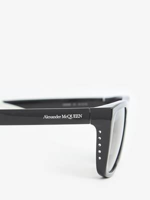 Court Rectangular Sunglasses