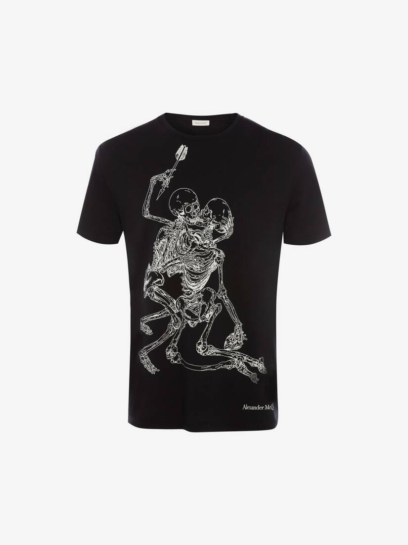 Display a large version of the product image 1 - Lovers Skeleton T-Shirt