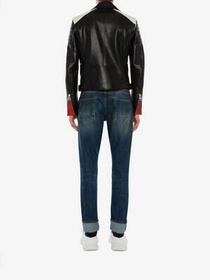 Jeans in Denim con Cimosa
