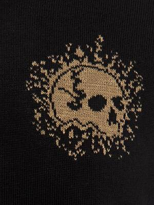 Pullover Girocollo Mini Skull Exploded