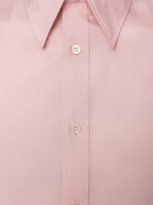 스컬 포플린 셔츠