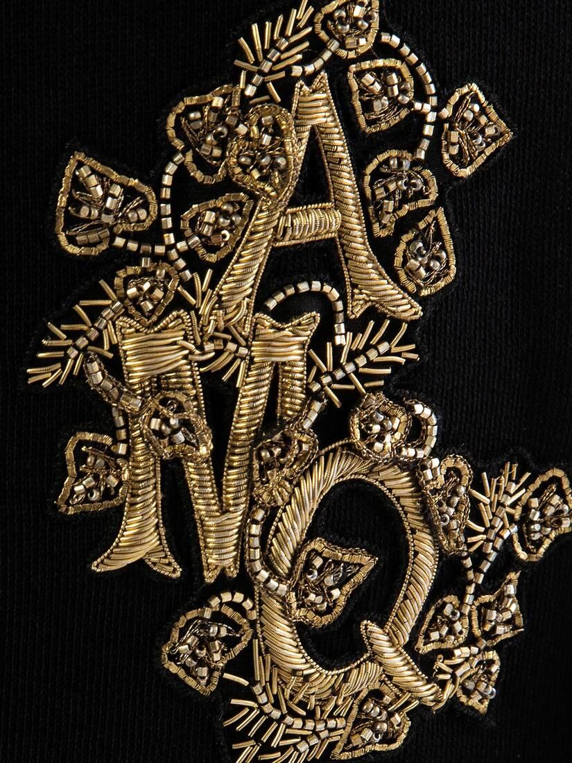 大きな製品イメージを表示する 5 - クリスタル エンブロイダード スウェットシャツ