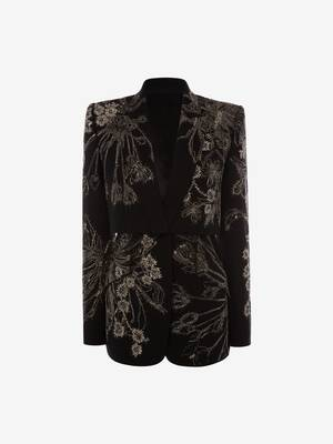 Endagered Flower Trompe L'Oeil Jacket
