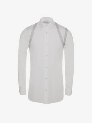 Contrast Stitch Harness Shirt