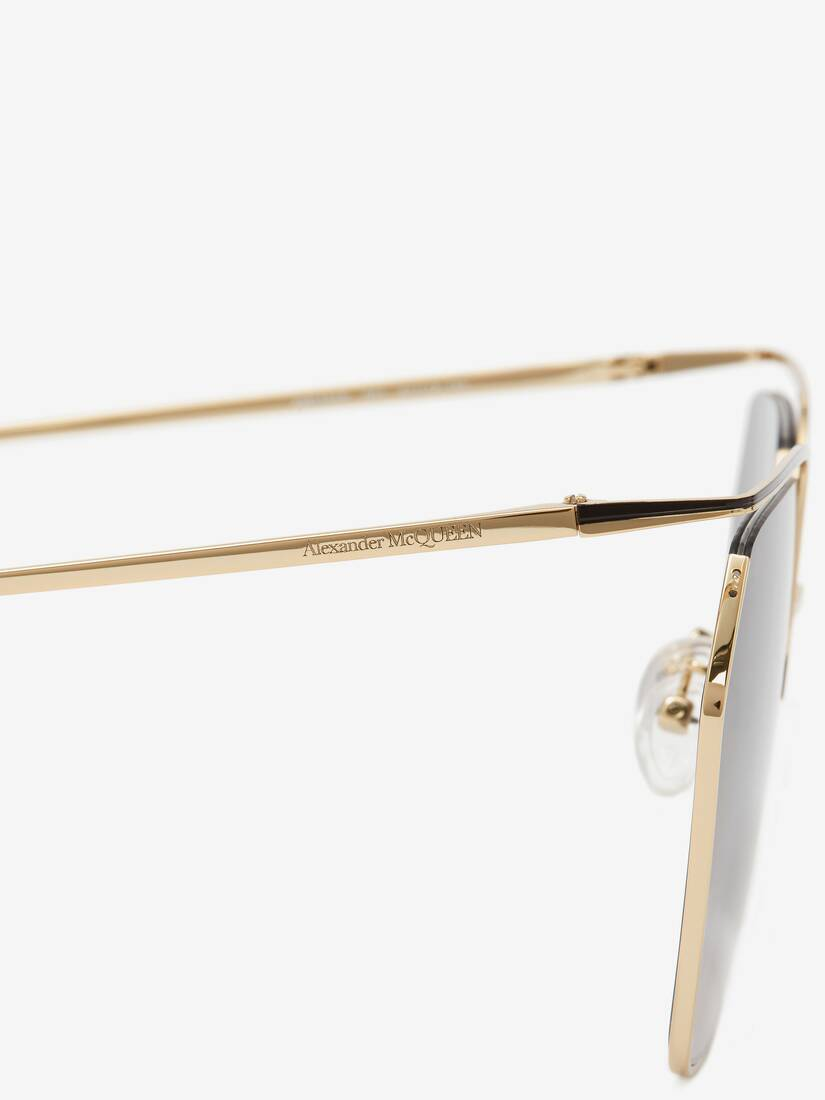 The Cut Square Sunglasses