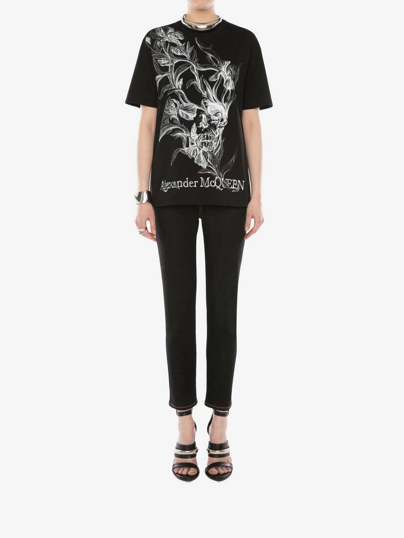 Display a large version of the product image 2 - Iris Skull T-Shirt