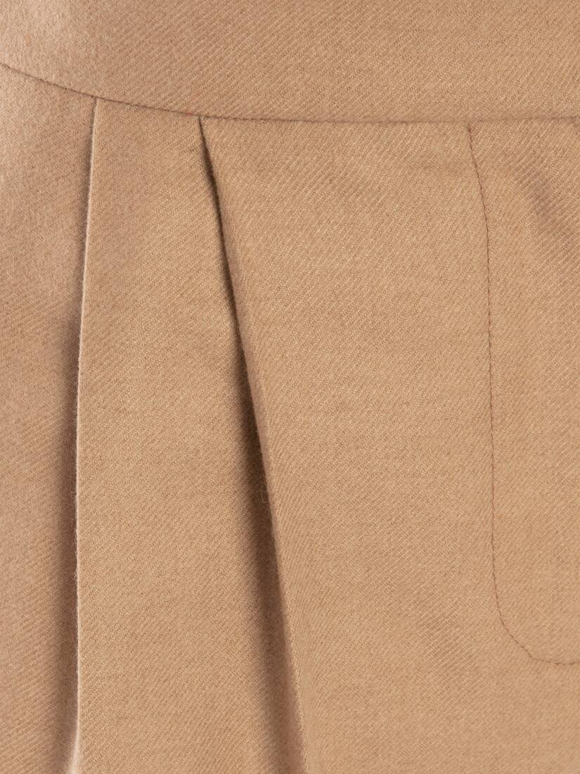 Display a large version of the product image 5 - Camel Felt Trouser