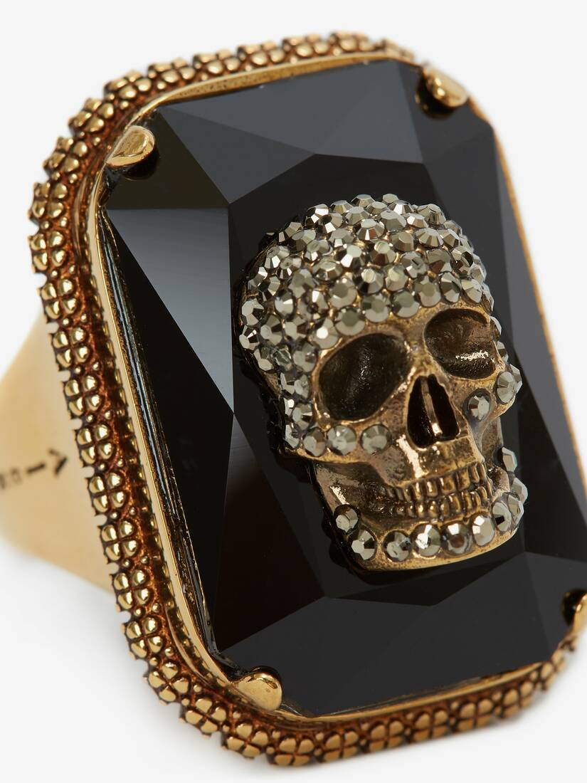 Display a large version of the product image 4 - Jewelled Skull Ring