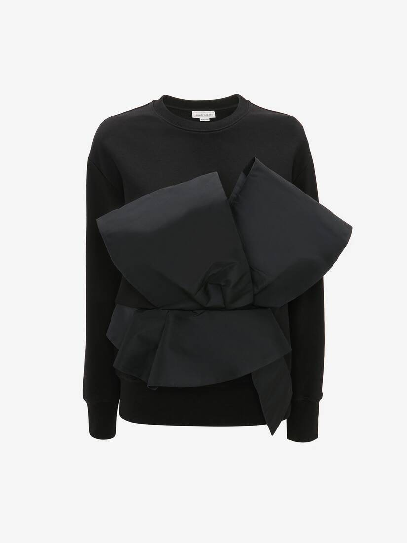 Display a large version of the product image 1 - Bow Sweatshirt