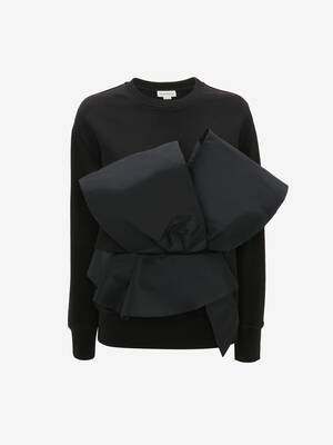 Sweat-shirt Bow