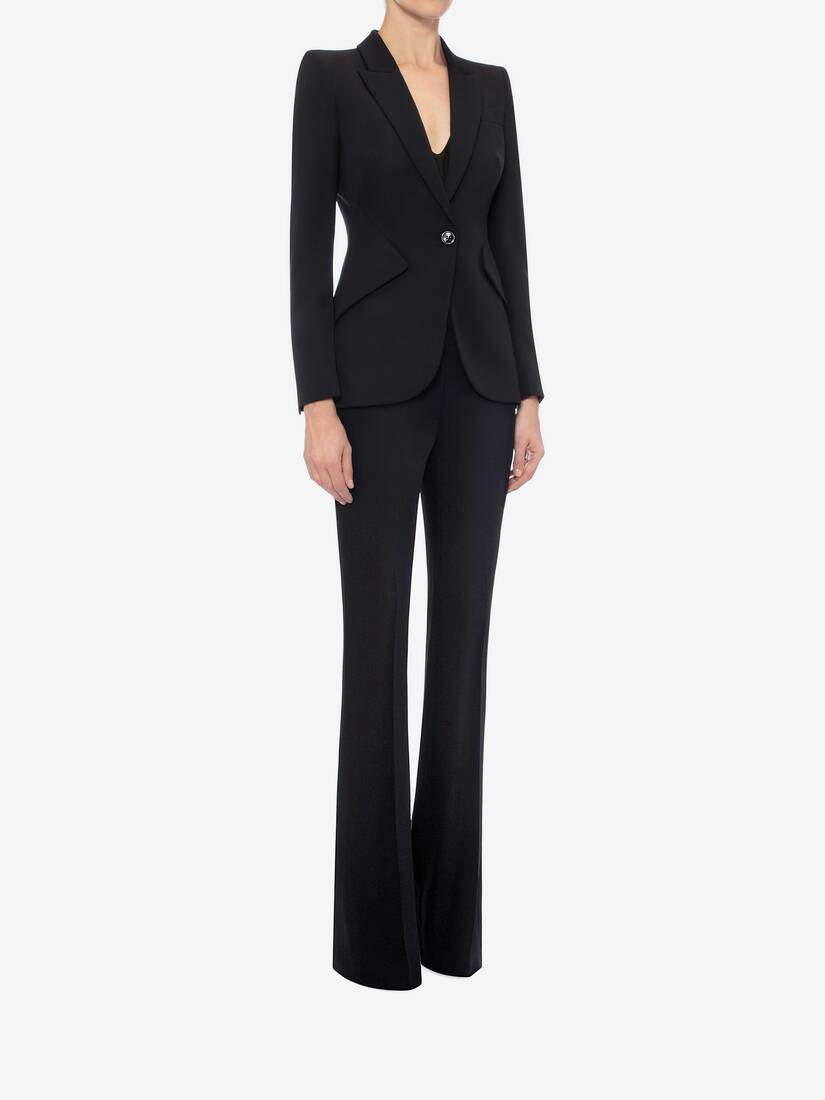 Display a large version of the product image 3 - Narrow Bootcut Trousers