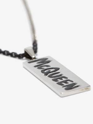 McQueen Graffiti Necklace