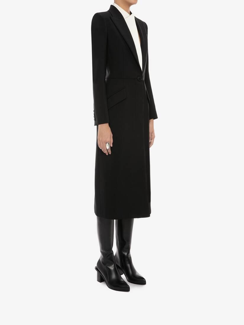 Hybrid Double Collar Coat