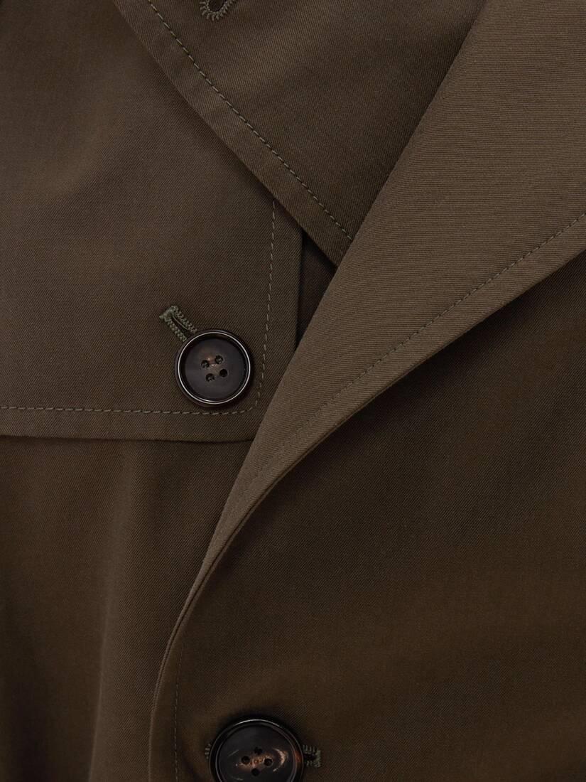 McQueen Classic Harness Trench Coat