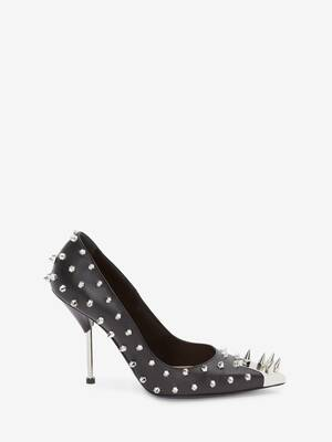 Punk-Pumps mit Studs