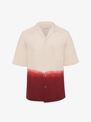 Camicia con Stampa Dip Dye
